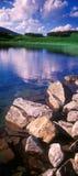 湖Nesamovyte 库存照片