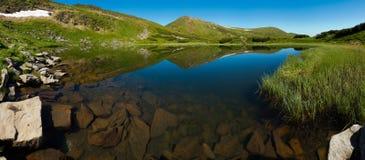 Nesamovyte Lake in Carpathians Royalty Free Stock Photo