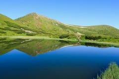 Nesamovyte Lake in Carpathians Stock Images