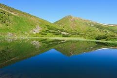 Nesamovyte Lake in Carpathians Stock Photos