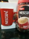Nescaf imagens de stock