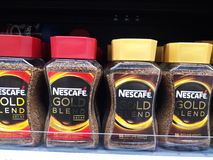 Nescafe-Gold Stockfotografie