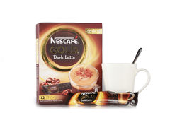 Nescafe gold drink product shot Stock Photography