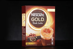 Nescafe gold drink product shot Royalty Free Stock Images