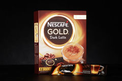 Nescafe gold drink product shot Stock Image