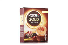 Nescafe gold drink product shot Stock Photo