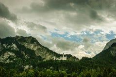 Neschwanstein城堡 免版税库存图片