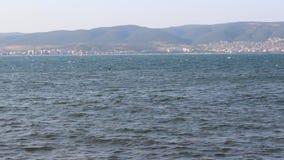 Nesebar black sea. Image was shot in bulgaria on black sea in nesebar stock video footage
