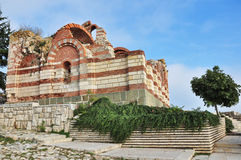 Nesebar, church, buildings Stock Photography