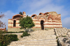 Nesebar, church, buildings Royalty Free Stock Photo