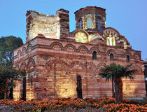 Nesebar, church, buildings Stock Photo