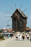 Nesebar island - popular touristic place,Bulgaria Royalty Free Stock Photos