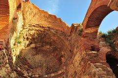 Nesebar, kościół, budynki Fotografia Royalty Free