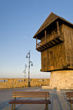Nesebar in the morning Stock Image