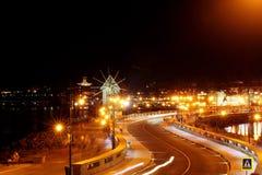 Nessebar by night Stock Image