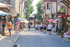 Nesebar street view Stock Photography