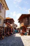 Nesebar street view Stock Photos