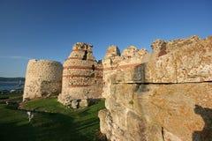 Nesebr city wall Stock Photo