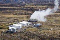 Nesjavellir Geothermal Power Station Stock Photo
