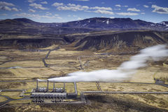 Nesjavellir Geothermal Power Station Royalty Free Stock Photography
