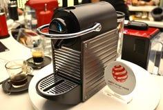 Nespresso coffee machine. On display Royalty Free Stock Photo