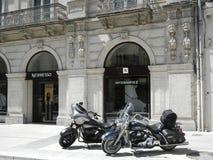 Nespressowinkel in Montpellier, Frankrijk Royalty-vrije Stock Foto