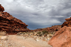 Nesr Supai da fuga de Havasupai, o Arizona fotografia de stock royalty free