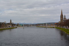 Τράπεζες της Ness ποταμών Στοκ Εικόνες