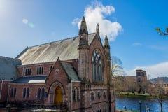 Ness Bank Church. Inverness Stock Photos