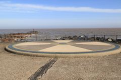 Euroscope. Ness Point, also known as Lowestoft Ness, is the most easterly point of England, the United Kingdom and the British Isles. It is located in Lowestoft Stock Photography