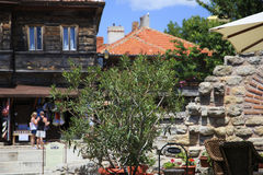 Nessebar保加利亚 免版税库存照片