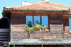 Nessebar,保加利亚城市视图  库存图片