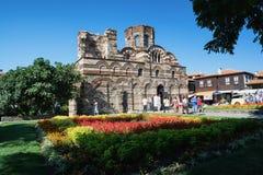 NESSEBAR, ΒΟΥΛΓΑΡΙΑ - 14 ΑΥΓΟΎΣΤΟΥ 2016: Η εκκλησία της εκκλησίας Χριστού Pantocrator σε Neseebar, Βουλγαρία Στοκ εικόνες με δικαίωμα ελεύθερης χρήσης