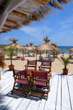 nessebar пляжа bulgary Стоковая Фотография RF