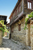 Nessebar, Bulgaria. The streets of Old Town. Summer 2012 Royalty Free Stock Images