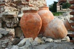 Nessebar, Bulgaria, artifacts Stock Photos