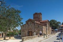 NESSEBAR, BULGARIA - 30 JULY 2014: Church of St. John the Baptist in the town of Nessebar, Bulgaria Stock Photos