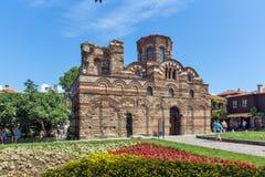 NESSEBAR, BULGARIE - 30 JUILLET 2014 : Église du Christ Pantocrator dans la ville de Nessebar, Bulgarie Photo stock