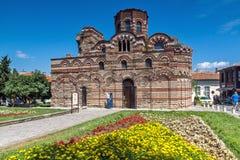 NESSEBAR, BULGARIE - 30 JUILLET 2014 : Église du Christ Pantocrator dans la ville de Nessebar, Bulgarie Photos stock