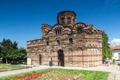 NESSEBAR, BULGARIE - 30 JUILLET 2014 : Église du Christ Pantocrator dans la ville de Nessebar, Bulgarie Image libre de droits