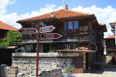 Nessebar Bulgarien Arkivbild
