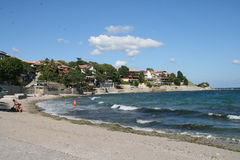 Nessebar coastline, Bulgaria Royalty Free Stock Images