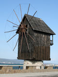 nessebar gammal windmill Royaltyfri Fotografi