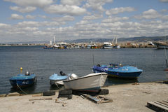 Nessebar harbour, Bulgaria Royalty Free Stock Photo