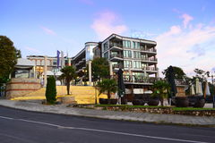 Nessebar-Hotel Lizenzfreie Stockfotografie