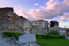 Nessebar Old Town fortress Royalty Free Stock Photography