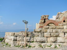 Nessebar ruins Royalty Free Stock Images