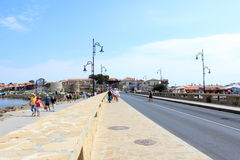 Nessebar Seafront Royalty Free Stock Photo