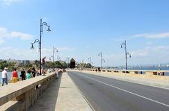 Nessebar Seafront Stock Image
