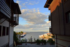 Nessebar shore view Stock Photography